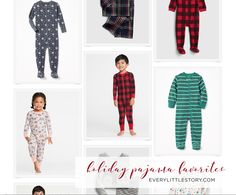 Browse holiday pj's from the web!