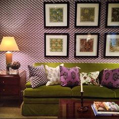 couch, apart therapi, picture layouts, high point, color, accent pillows, point market, framed art, apartments