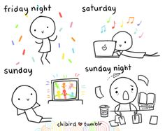 totally my weekends