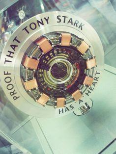 """""""Proof that Tony Stark has a heart."""""""