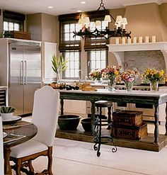 modern farmhouse, kitchen color, farmhouse kitchens, bar stools, modern kitchens, kitchen islands, dream kitchens, kitchen designs, french kitchens