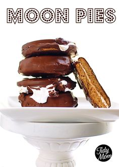 Homemade Moon Pies! You have GOT to try these! recipe at TidyMom.net