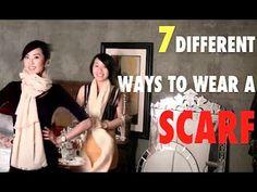 7 Ways To Wear A Scarf