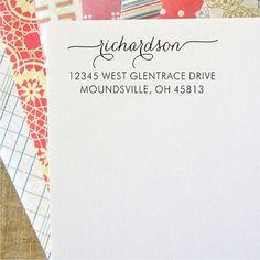 Return Address Stamp - Custom Address Stamp - Self-Inking Stamps (035)