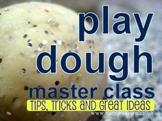 Anyone never made play dough before? This master class has a step by step guide to an easy no cook play dough recipe with lots of tips, tricks and ideas - including a free Let's Play Dough ebook.