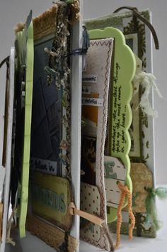 """Believe"" mini album #scrapbook #DIY #handmade"