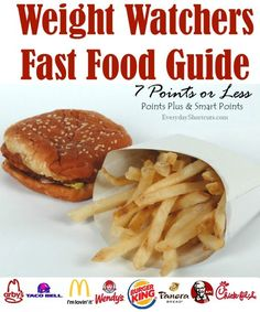 weight watchers fast