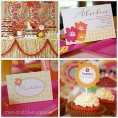 Aloha Summer Party & Printables