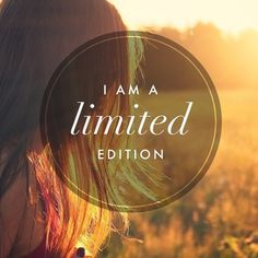 "Tattoo Ideas & Inspiration - Quotes & Sayings | ""I am a limited edition"""