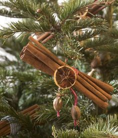 Cinnamon ornament