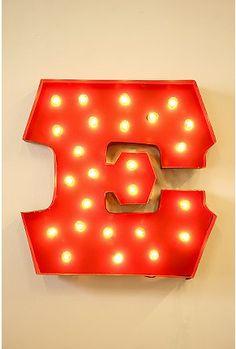 Marquee Alphabet Lights