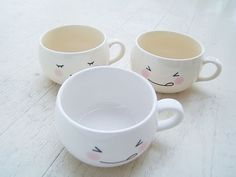 mugs with cute expressions