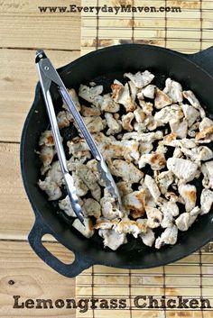 Lemongrass Chicken from www.everydaymaven.com