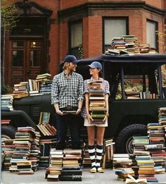 What more do you need? Books and Love!