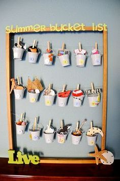 Last days of school summer bucket list...kids can take them home....What a GREAT idea....especially for 5th graders