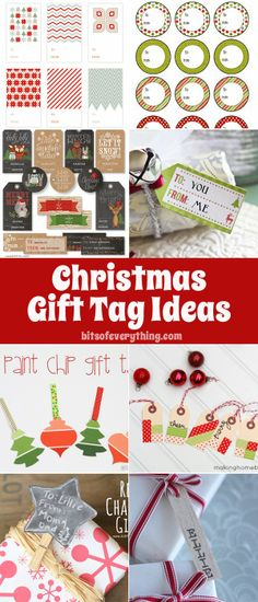 Bits Of Everything: Gift Tag Ideas