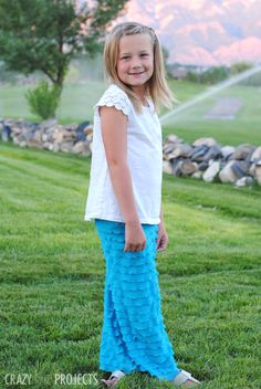 Cute and VERY Easy Maxi Skirt Tutorial