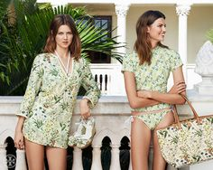 Flowers and water | Tory Burch Summer 2014