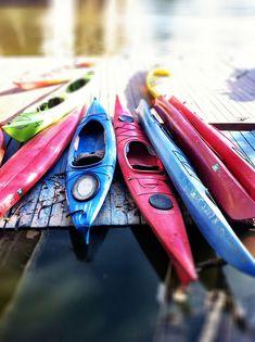Kayak colors #kayak #kayaker #kayaking #kayaks
