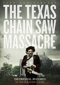 Availability: http://130.157.138.11/record=b3737122~S13 The Texas Chain Saw Massacre: 40th Anniversary / story and screenplay, Kim Henkel and Tobe Hooper ; producer/director, Tobe Hooper. 40 years ago, five youths on a weekend getaway in the Texas countryside fell prey to a butcher in a mask made of human skin and his cannibalistic family, and horror cinema would never be the same.