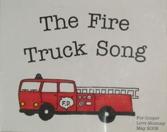 Create your very own book of your favorite song or rhyme.