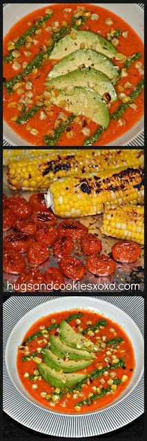 ROASTED CORN, TOMATO