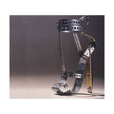 Weird Shoes Collection ❤ liked on Polyvore fashion, crazy shoes, metals, woman shoes, weird shoe, heels, steampunk, iron, metal shoe