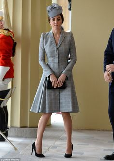Though she looked as elegant as ever, Kate seemed to lack some of her usual sparkle