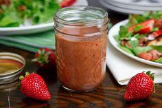 Roast Strawberry Balsamic Vinaigrette
