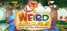 Here is some the new Logo along with the colorful artwork for Weird Animals VBS 2014