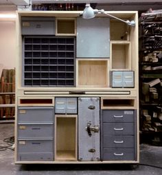 RECYCLING # FURNITURE :: SECOND HAND SECRETAIRE BY CIGUE (PARIS, FR) | ___ architecture for the 99