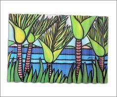 Outdoor art | Corrugated iron art print |Kiwiana art | Aotearoa.co.nz