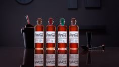 Coca-Cola has released a range of mixers packaged in Hutchinson glass bottles, the design used by the brand in 1894 when the product was first launched.