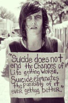 Kellin Quinn Suicide Quote