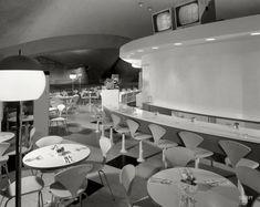 coffe shop, shops, airports, raymond loewy, coffee, twa termin, 1962, mid centuri, raymond loewi