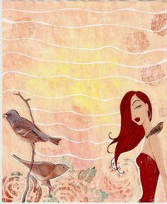 Art Journal - i like the background