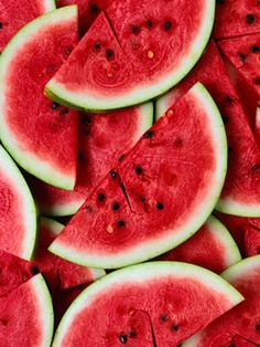 Hydrating Snacks  Watermelon and cucumbers are loaded with water, so naturally, eating them keeps you and your skin hydrated. Enhance your complexion by enriching your diet with their beautifying vitamins and anti-oxidants.