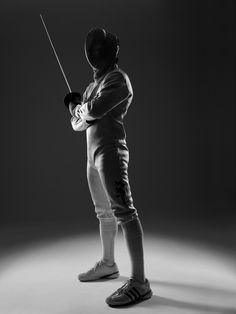 fencing via Conrad Sak