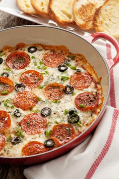 The BEST Pizza Dip recipe!