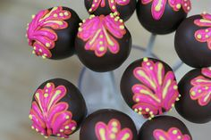 Indian Wedding Cake Pops