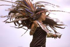 Aztec Sun Dancer, Shinecock Indian Reservation Long Island, New York.