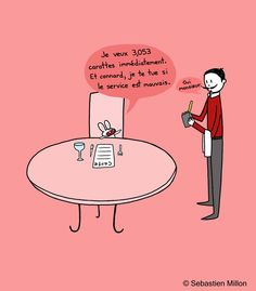 Learning French with Bunny by sebreg.deviantart.com on @deviantART