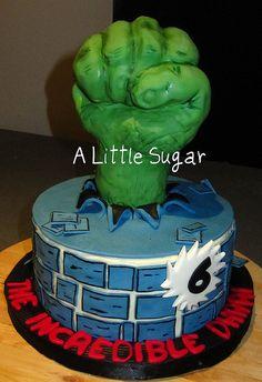 incredible hulk cake | Incredible Hulk