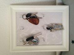 Our own key holder, DIY