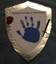 Kingdom Rock VBS Crafts   ... craft paint for hand print. Decorate with VBS stickers or foam shapes