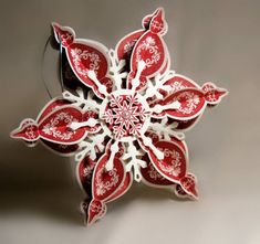 Holiday Ornament in Cherry Cobbler - ich liebe dieses Ornament