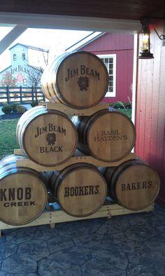 Booker Noe-Master Distiller for Jim Beam lived around the corner from us in Bardstown--Great Bourbon!