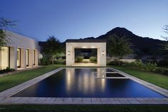 No, this isn't a painting but this pool and backyard are definitely pieces of art. Paradise Valley, AZ Coldwell Banker Residential Brokerage