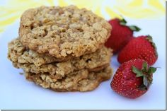 Coconut Peanut Butter Oatmeal Cookies
