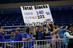 UK fans in Florida  KY @ Florida  March 4, 2012